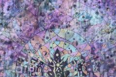 Imagen de fondo creativa de la relajación y de la meditación Fotos de archivo
