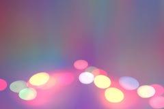 Imagen de fondo de la etapa en luces del color Fotografía de archivo