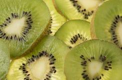 Imagen de fondo de la fruta de kiwi cortada Imágenes de archivo libres de regalías