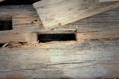 Imagen de fondo de la madera vieja de la naturaleza Fotografía de archivo libre de regalías
