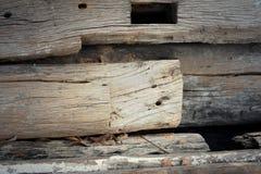 Imagen de fondo de la madera vieja de la naturaleza Foto de archivo libre de regalías