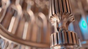 Imagen de fondo sobre los metales y la maquinaria Fotografía de archivo libre de regalías