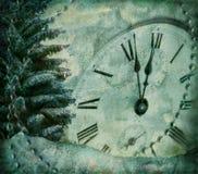Imagen de Grunge de venir del Año Nuevo ilustración del vector