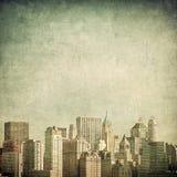 Imagen de Grunge del horizonte de Nueva York libre illustration