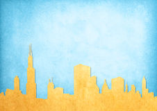 Imagen de Grunge del paisaje urbano Imagen de archivo
