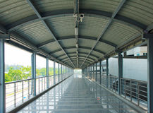 Imagen de la acción del pasillo del aeropuerto Imagen de archivo