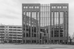 Imagen de la arquitectura de un edificio del negocio en Regensburg Imagen de archivo