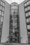 Imagen de la arquitectura de un edificio del negocio en Regensburg Imágenes de archivo libres de regalías
