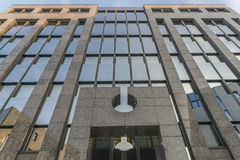 Imagen de la arquitectura de un edificio del negocio en Regensburg Imagen de archivo libre de regalías