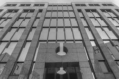 Imagen de la arquitectura de un edificio del negocio en Regensburg Fotos de archivo