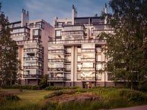 Imagen de la construcción de viviendas residencial en Europa fotos de archivo libres de regalías