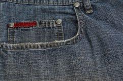 Imagen de la definición de la textura de los vaqueros alta imagen de archivo libre de regalías