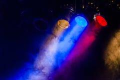 Imagen de la iluminación real del concierto imágenes de archivo libres de regalías