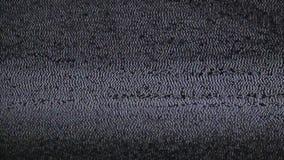Imagen de la interferencia TV almacen de metraje de vídeo