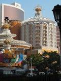 Imagen de la Lisboa y de los casinos de Wynn en Macao imagen de archivo libre de regalías