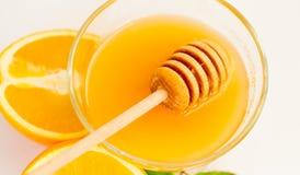 Imagen de la miel fresca Fotos de archivo libres de regalías