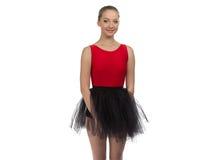 Imagen de la muchacha joven del bailarín foto de archivo