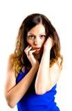 Imagen de la mujer apacible lujosa Foto de archivo