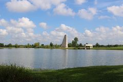 Imagen de la naturaleza para Sugar Land Memorial Park y el pasillo del río Brazos foto de archivo libre de regalías