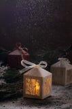 Imagen de la Navidad Fotografía de archivo