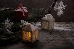 Imagen de la Navidad Fotos de archivo