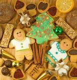 imagen de la Navidad y del primer de los dulces del día de fiesta Fotografía de archivo libre de regalías