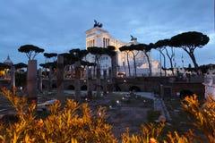 Imagen de la noche de Roma imágenes de archivo libres de regalías