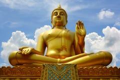 Imagen de la sentada de buddha Imagen de archivo