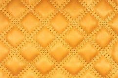 Imagen de la sepia de la tapicería del cuero auténtico Imágenes de archivo libres de regalías