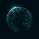 Imagen de la tecnología del globo Fotos de archivo