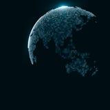 Imagen de la tecnología del globo Foto de archivo