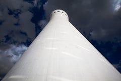 Mirada para arriba de la torre de Brasilia Digital TV Foto de archivo