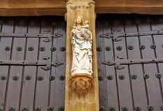 Imagen de la Virgen, la catedral de Caceres, Extremadura, España Fotografía de archivo libre de regalías