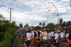 Imagen de las estatuas de Ogoh-ogoh en Bali Fotos de archivo
