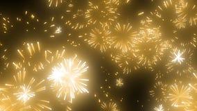 Imagen de los fuegos artificiales almacen de video