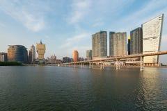 Imagen de Macao Macao, China Estructura del hotel y del casino del rascacielos fotografía de archivo libre de regalías