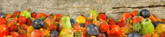 imagen de muchas frutas Fotografía de archivo