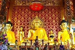 Imagen de oro de buddha Fotos de archivo libres de regalías