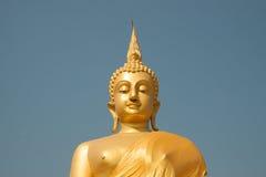 Imagen de oro de buddha Imagen de archivo