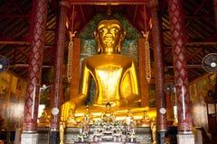 Imagen de oro de buddha del principio Fotografía de archivo libre de regalías