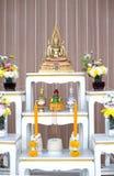 Imagen de oro hermosa de Buddha Fotos de archivo libres de regalías