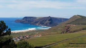 Imagen de Ponta DA Calheta, Oporto Santo, islas de Madeira Foto de archivo