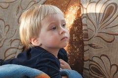 Imagen de un bebé dulce Imagen de archivo