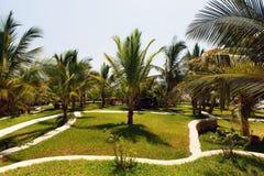 Imagen de un centro turístico lujoso en Kenia Imagenes de archivo