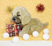 Imagen de un perrito del juguete del ` s del niño Fotos de archivo libres de regalías