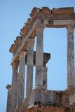 Imagen de un en romano antiguo Mérida, España del templo Fotografía de archivo
