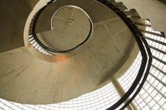 Imagen de una escalera espiral del vintage Foto de archivo libre de regalías