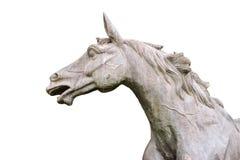 Imagen de una estatua del caballo Foto de archivo libre de regalías