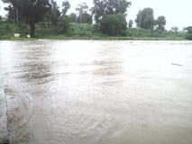 Imagen de una inundación Foto de archivo libre de regalías