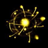 Imagen del átomo Fotos de archivo libres de regalías